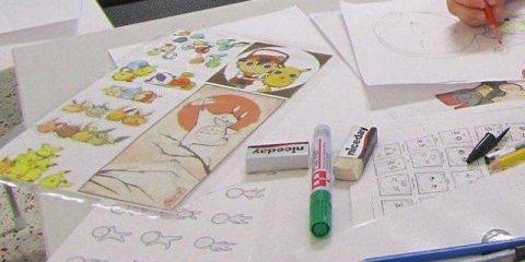 Atelier dessin manga