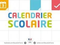 Modification du calendrier des vacances scolaires
