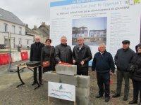 Centre bourg : pose de la première pierre de la résidence Le parvis du (...)