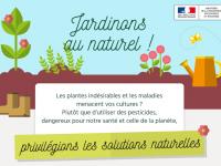 Interdiction des pesticides dans nos jardins et sur les voiries