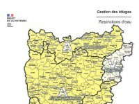 Mise en place de restriction de l'usage de l'eau en Mayenne