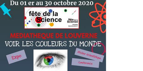 Fête de la Science à la Médiathèque de Louverné : Voir les couleurs du (...)