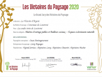 La coulée verte remporte les victoires d'argent des paysages 2020